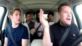 """""""Best Version"""" of Drag Me Down - Carpool Karaoke with One Direction"""