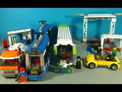 Vidéo LEGO City 8404 : Les transports publics