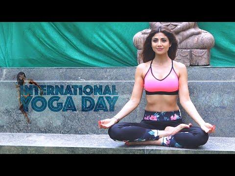 Shilpa Shetty performs her favourite yoga asana ahead of International Yoga Day