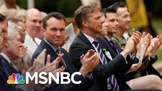 Pentagon Lifts Ban On Transgender Service Members | MSNBC thumbnail