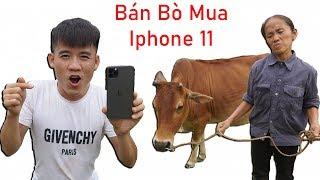 Hưng Vlog - Bán Con Bò Của Mẹ Bà Tân Vlog Mua Iphone 11 Pro Max 40 Triệu Và Cái Kết