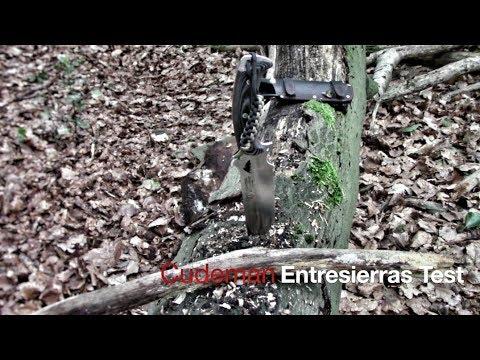 #12: ☠ CUDEMAN ENTRESIERRAS Modell 155 | Survival Outdoor Knife | Outdoor Test in deutsch ☠