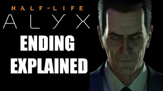 Half-Life: Alyx's Ending Explained And How It Sets Up Half-Life 3