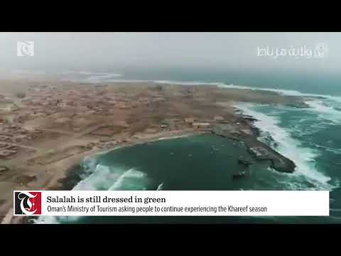 Video: Salalah is still dressed in green