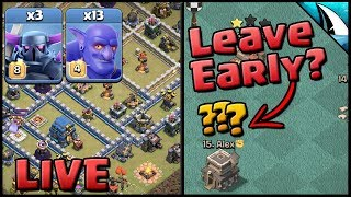 *Th12 Pekka Bowlers* & What Happens When You Leave an Attack Early? | Clash of Clans
