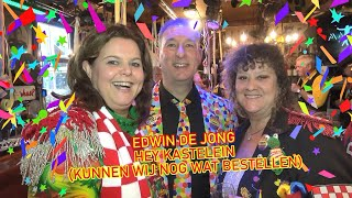 Edwin de Jong 'Hey Kastelein (kunnen wij nog wat bestellen)' - Carnaval 2020