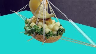 How to Make a Boat with Melon