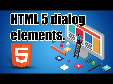 Learn HTML 5 | Dialog elements | Part 2 | Eduonix