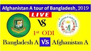 Bangladesh A Vs Afghanistan A - Scorecard | Live Cricket Match Today | Cricket Live | Ban A Vs Afg A