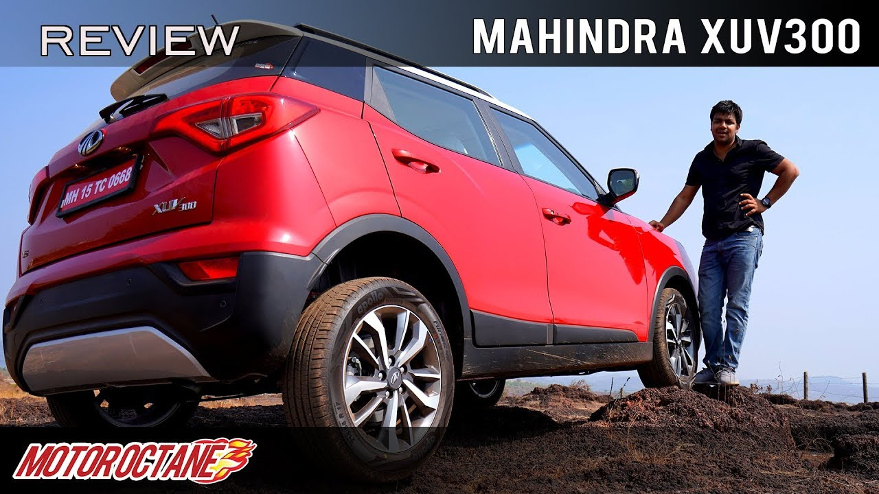 Motoroctane Youtube Video - Mahindra XUV300 | Hindi Review | MotorOctane