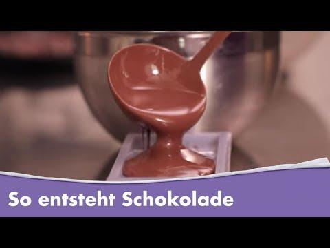 So wird Milka Alpenmilch Schokolade gemacht