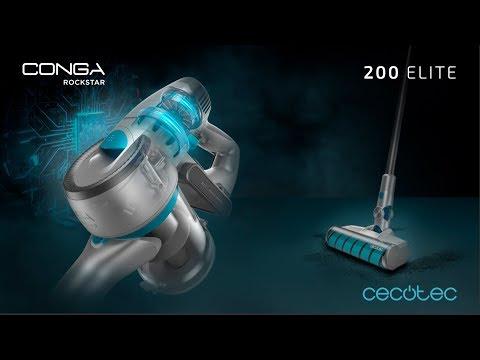 Aspirador escoba digital Conga RockStar 200 Elite Cecotec