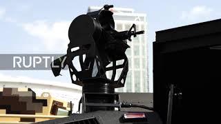 Grupa STREIT prezentuje elektryczny pojazd opancerzony na targach zbrojeniowych w Abu Dhabi
