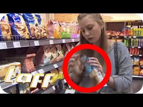 Packung vor dem Bezahlen öffnen –Supermarkt: Darf man das? | taff | ProSieben