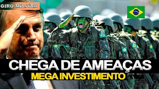 Brasil vai investir pesado nas forças armadas