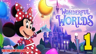 Disney Wonderful Worlds - Gameplay Part 1 (By Ludia Inc.) Android IOS