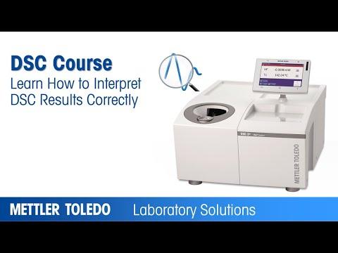 DSC Curve Interpretation