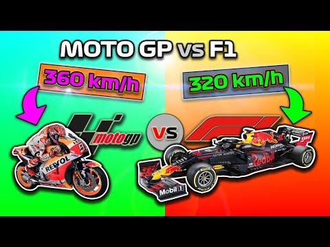 F1 VS MOTO GP 💥 ¿QUÉ ES MÁS RÁPIDO UN COCHE DE FORMULA 1 🟢 o UNA MOTO GP? EL MEJOR (Te SORPENDERÁ..)