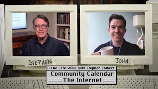 John Mulaney Reads The Internet's Community Calendar