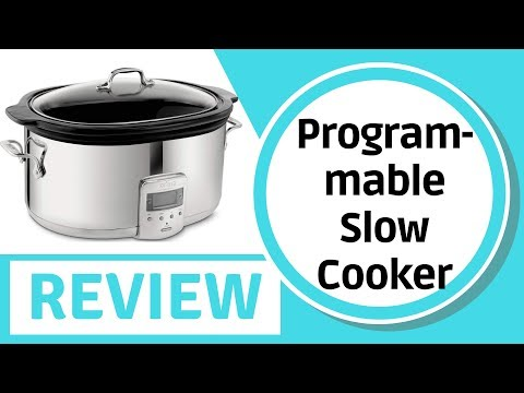 , All-Clad SD700450 Programmable Oval-Shaped Slow Cooker
