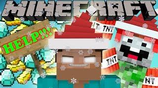 If Herobrine Celebrated Christmas - Minecraft