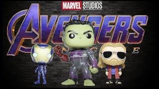 Avengers Endgame Fat Thor Funko Pop & 6 inch Hulk Funko Pop Review