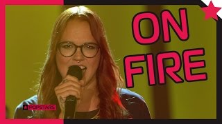 Stefanie Heinzmann: On Fire - Popstars