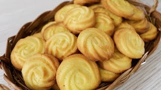 Easy Homemade Butter Cookies Recipe/How To Make Butter Cookies