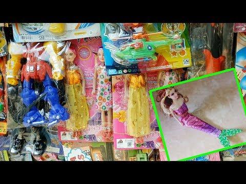 Mencari Paman Penjual Mainan Eps 1 Baju Barbie Mermaid Putri