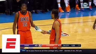 9 Minutes Of Kevin Durant Losing His Shoe On The Court | ESPN