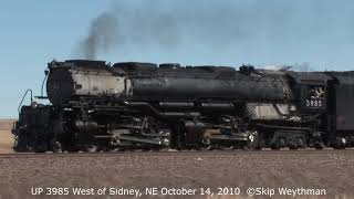 Union Pacific 3985 Highball At Sidney