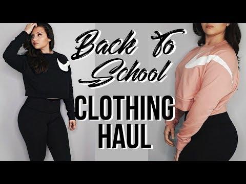 Back To School Clothing Haul/Try On | Huge Nike Sportswear Haul