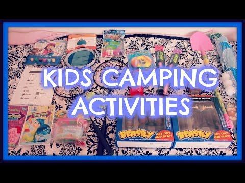 kids Camping Activites!