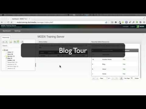 MODX Blog Tour