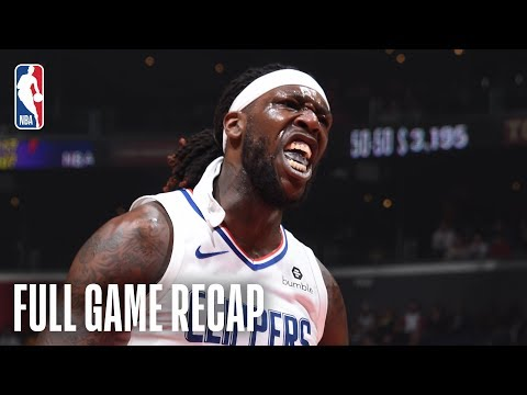 PACERS vs CLIPPERS | Montrezl Harrell Gives Clips A Spark Off The Bench | March 192019