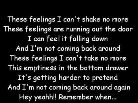 Remember When - Avril Lavigne (lyrics)