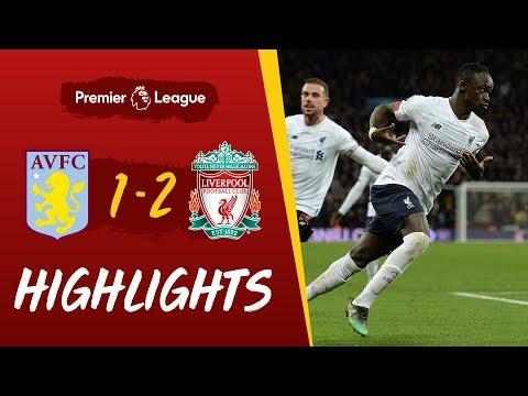 Aston Villa vs Liverpool 1-2 EPL 2019 Goals & Extended Highlights