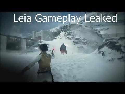 Leia Gameplay + Breakdown - Star Wars Battlefront 2