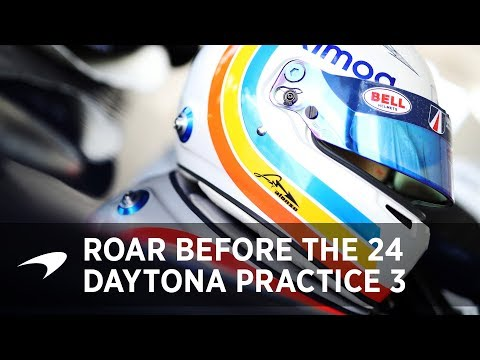 2018 Daytona 24 Practice: Day 3