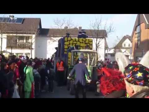 Lilien I.: Merler Karnevalszug 2015 (Video)