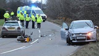 Прокатился по асфальту [Аварии с мотоциклами #2]
