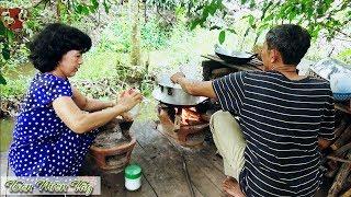 LẨU CHÁO CÁ LÓC BẦU Chia Tay Thằng Út Lên Sài Gòn Làm Việc • Toàn Miền Tây