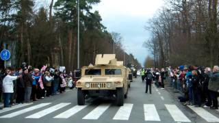 preview picture of video 'U.S. Army Dragoon Ride Pardubice 2nd convoy'
