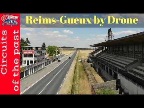 Circuit Reims-Gueux - Drone Flight over the Abandoned Circuit #urbex