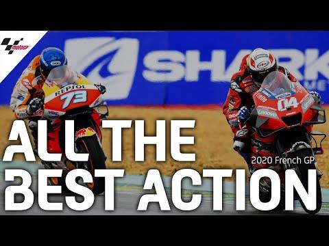 雨のレースとなったMotoGP フランスGPのベストアクションだけを集めたダイジェスト映像