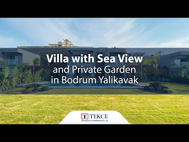 Duplex Villa within Walking Distance to Yalikavak Marina