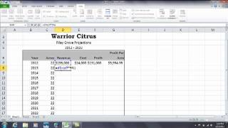 Excel: How to build formulas for percentage increase and percentage decrease.