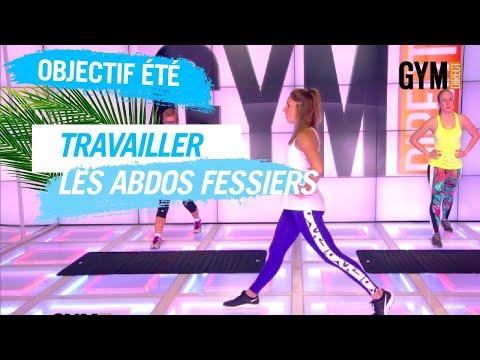 TRAVAILLER LES ABDOS/FESSIERS #OBJECTIFETE - GYM DIRECT