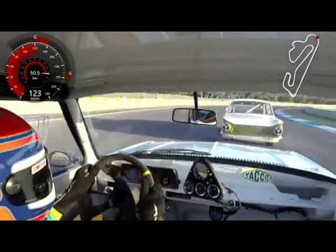 [FR] Iberian Historic Endurance : onboard camera with Michel Renavand