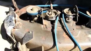 Husqvarna Ride On Mower Transmission Drive Belt Info